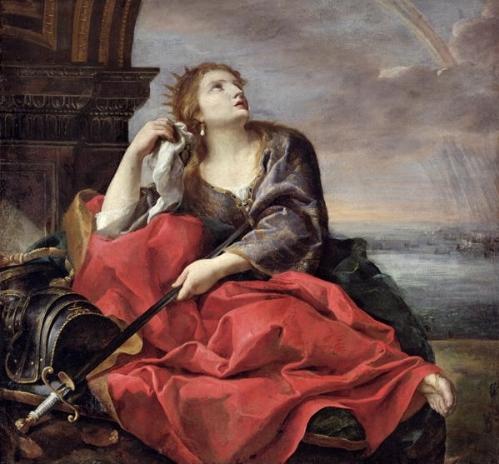 Andrea Sacchi, Didone abbandonata, ca. 1630
