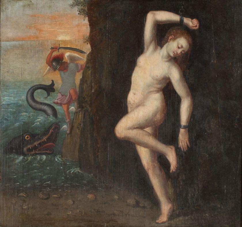 Anoniem, Perseus redt Andromeda, ca. 1600