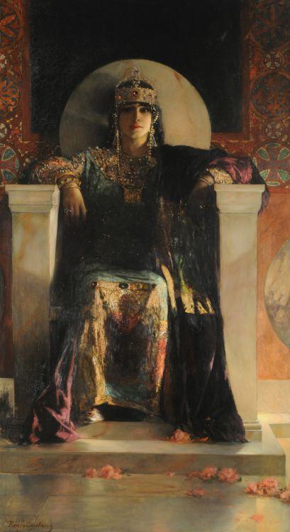 Jean-Joseph Benjamin-Constant, L'Impératrice Théodora, 1887