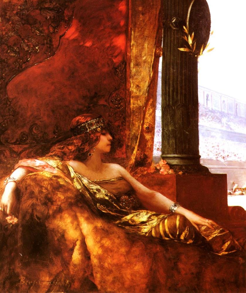 Jean-Joseph Benjamin-Constant, L'Impératrice Théodora au Colisée, ca. 1887