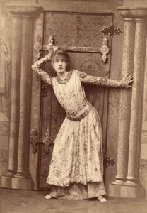 Sarah Bernhardt as Theodora