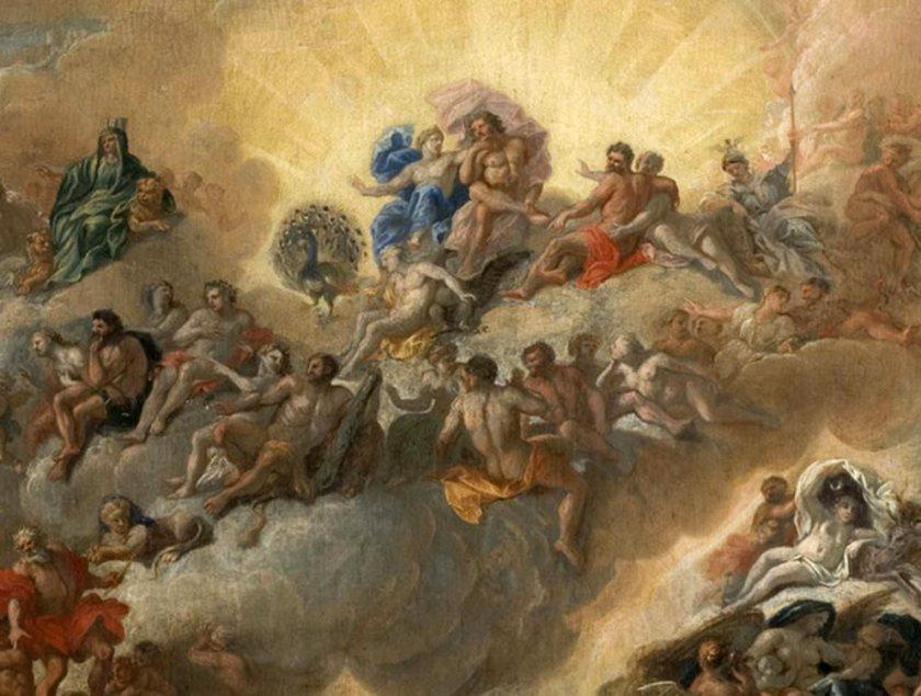 Antonio Verrio, Un assemblea degli Dei sull'Olimpo