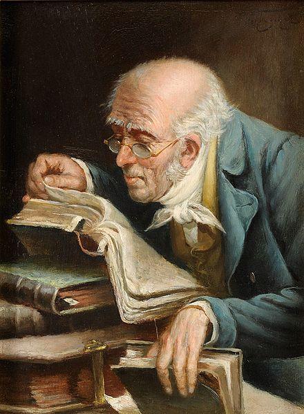 Carl Schleicher, Der Bücherwurm