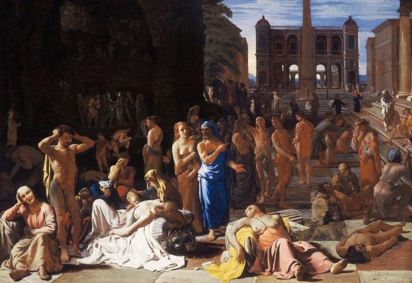 Michiel Sweerts, De pest in Athene, ca. 1652-54